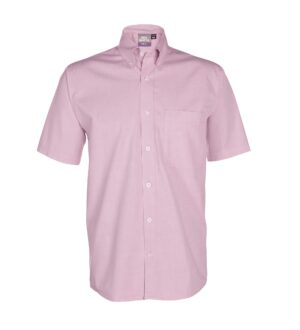 Men's Short Sleeve Pinpoint Oxford Dress Shirt