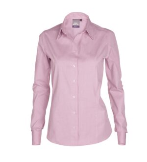Women's Long Sleeve Pinpoint Oxford Dress Shirt